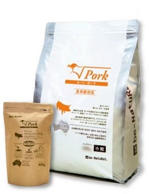 be-Natural ルート・ポーク 小粒、中粒 4.4kg